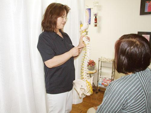 施術後の説明とアドバイス   美容矯正・整体の施術の流れ